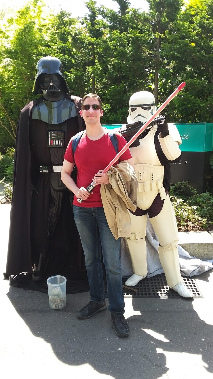 Everyday life with Darth Vader, Storm Trooper and Me, lol. 3
