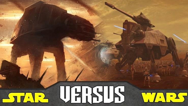 AT-AT vs AT-TE - Star Wars Versus