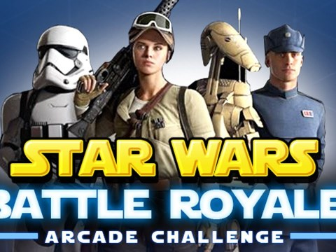 BATTLE ROYALE Arcade Challenge! How Long Can You Survive? - Star Wars 12