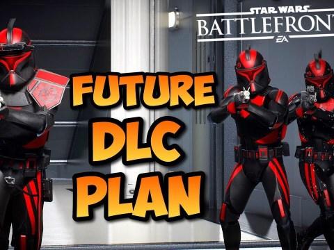 Future DLC Content Star Wars Battlefront 2 UPDATE! - New Season Content Roadmap Info 1