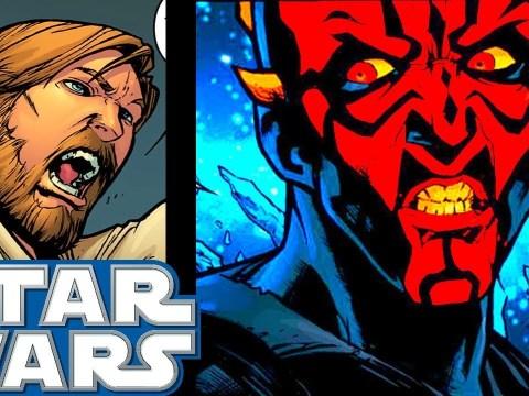 Obi-Wan HUNTS DOWN Maul for the Last Time(CANON) - Star Wars Comics