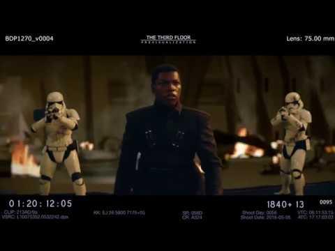 STAR WARS 8 THE LAST JEDI Deleted Scene Alternate Phasma Death 2017 The Last Jedi Movie HD