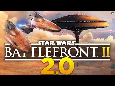 Star Wars Battlefront 2: MEGA Update 2.0 | New Map & Customization Gameplay!