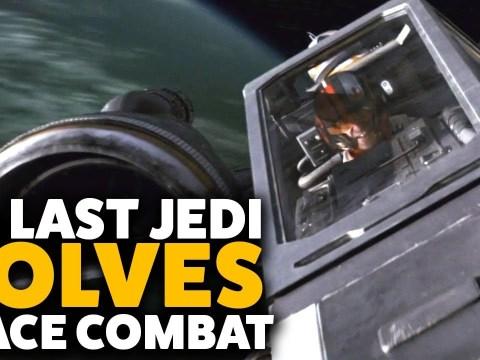The Last Jedi SOLVES Space Combat
