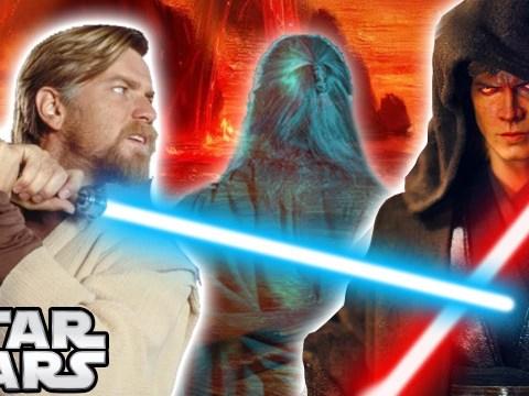 Why Obi-Wan REFUSED to KILL ANAKIN on Mustafar - Star Wars Explained