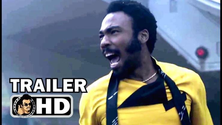 "SOLO: A STAR WARS STORY ""Lando"" Extended TV Spot Trailer"