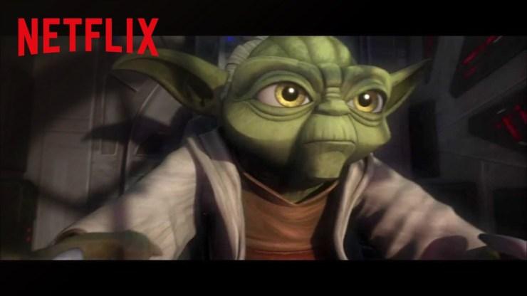 Star Wars: The Clone Wars - Netflix trailer 1