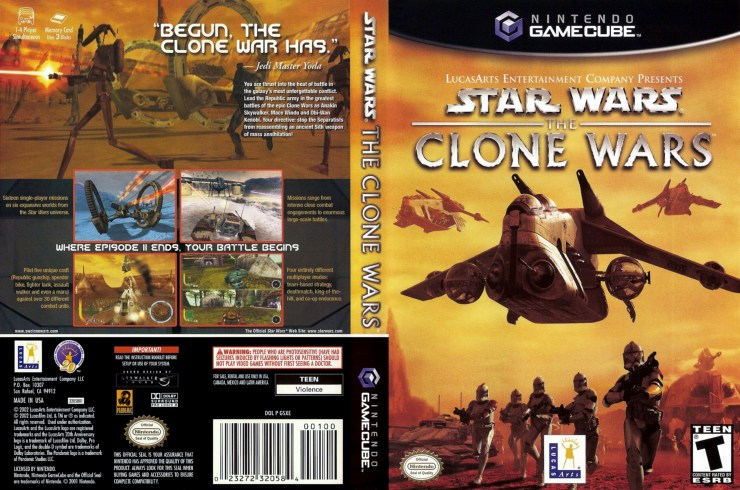 Download Star Wars The Clone Wars (Nintendo GameCube) Emu+Rom. 1