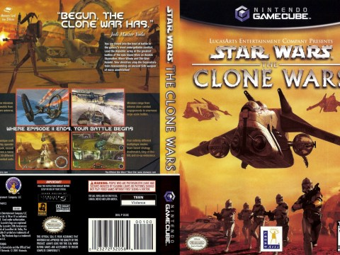 Download Star Wars The Clone Wars (Nintendo GameCube) Emu+Rom.