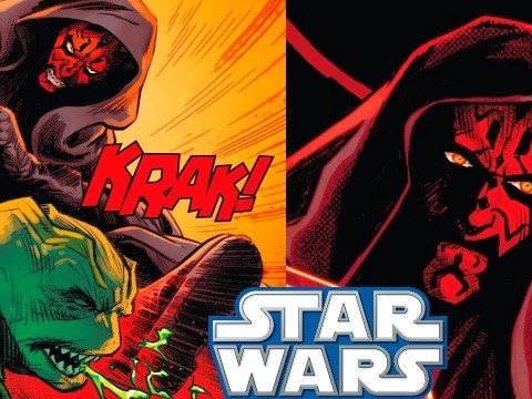 Darth Maul SAVES the Trade Federation - Star Wars Comics
