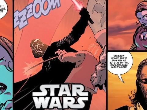 DARTH VADER KILLS HIS MYSTERY APPRENTICE - Star Wars Comics 12
