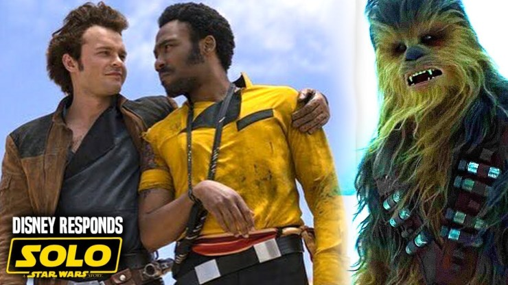 Disney Responds! Solo A Star Wars Story Box Office Bomb