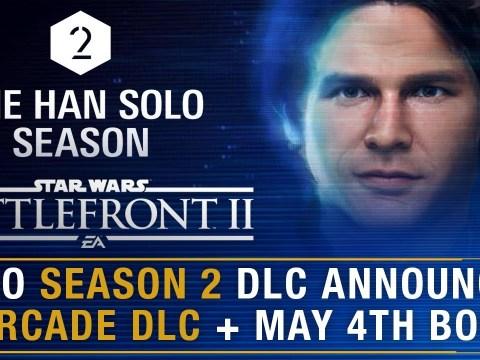 Season 2 Officially Han Solo DLC + New Arcade Content/May 4th Bonus