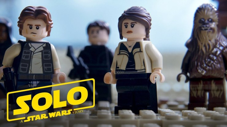 Solo: A Star Wars Story Official Trailer (As Told with LEGO Bricks) 1