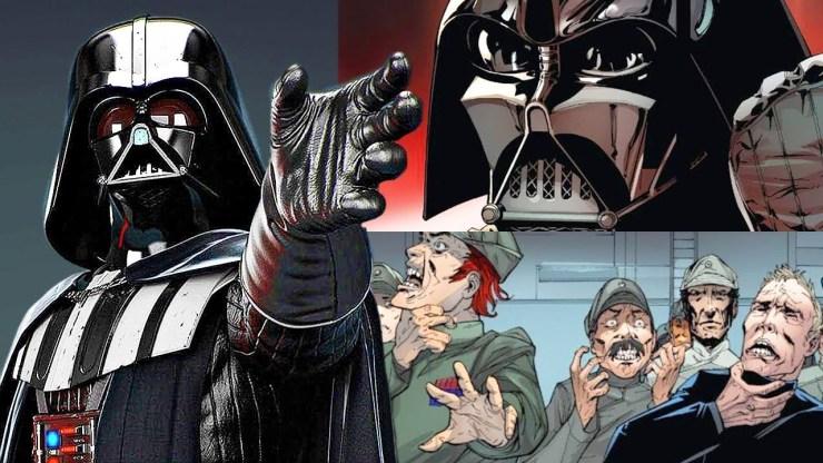 Cómo Darth Vader se Vengó de los Oficiales que Querían Eliminarlo