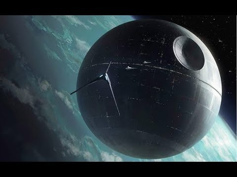 SPACE SCENES in LAST JEDI, ROGUE & FORCE AWAKENS