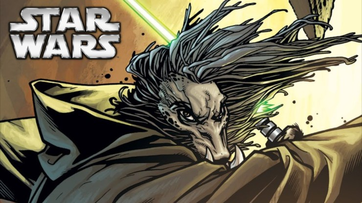 The Legend of K'Kruhk: One of the Oldest Jedi Masters in Star Wars 1