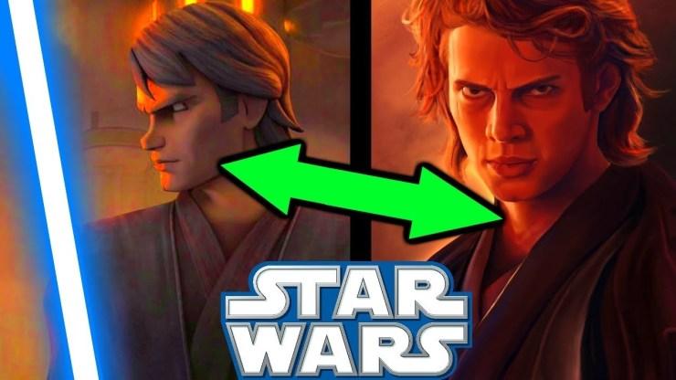 WHY Clone Wars ANAKIN Is LOVED More Than Movie ANAKIN!! - Clone Wars 1