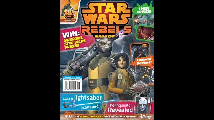 Star Wars Rebels Magazine 06 (2016)
