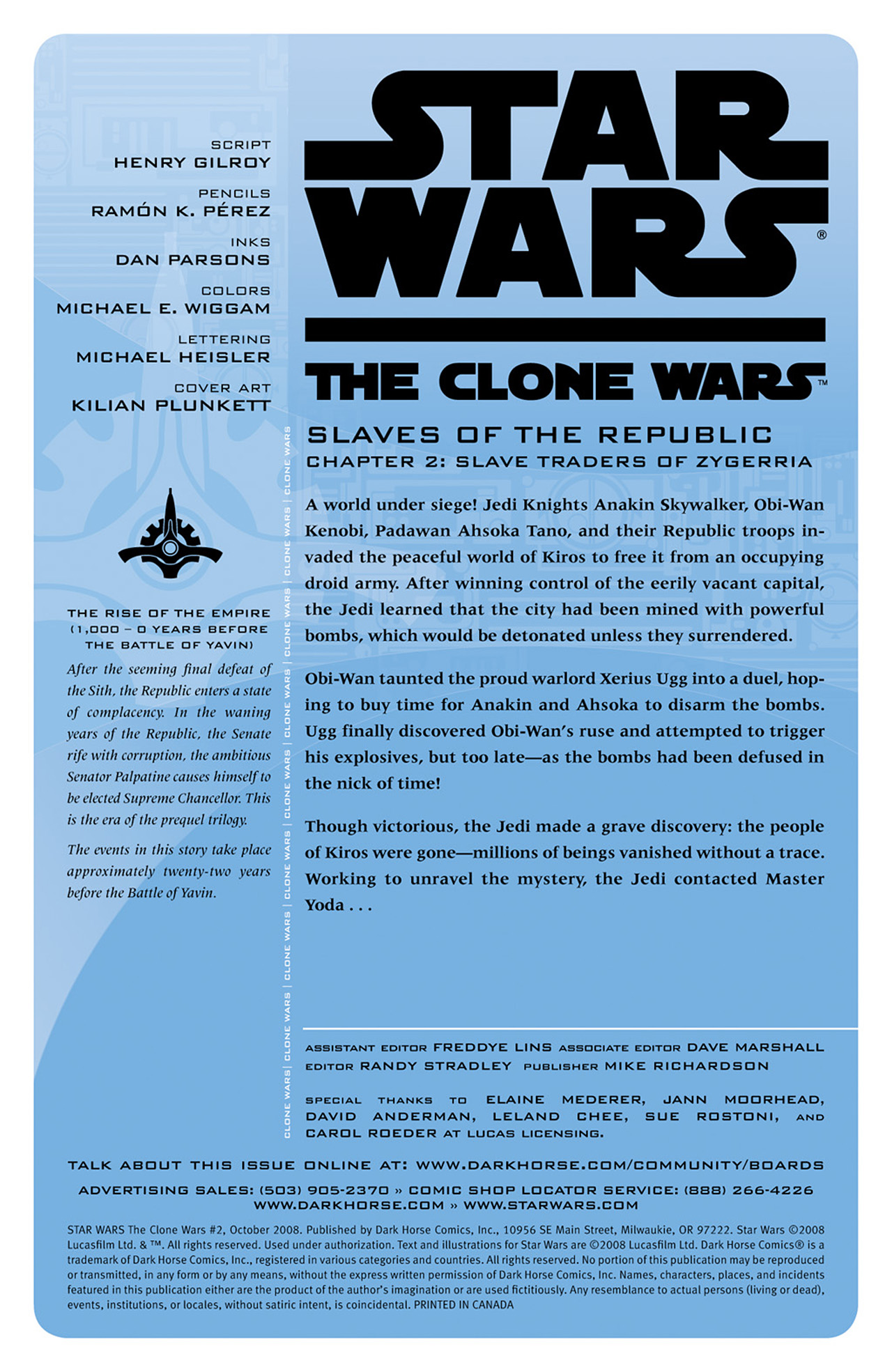 Star Wars - The Clone Wars 02 (of 12) (2008) 3