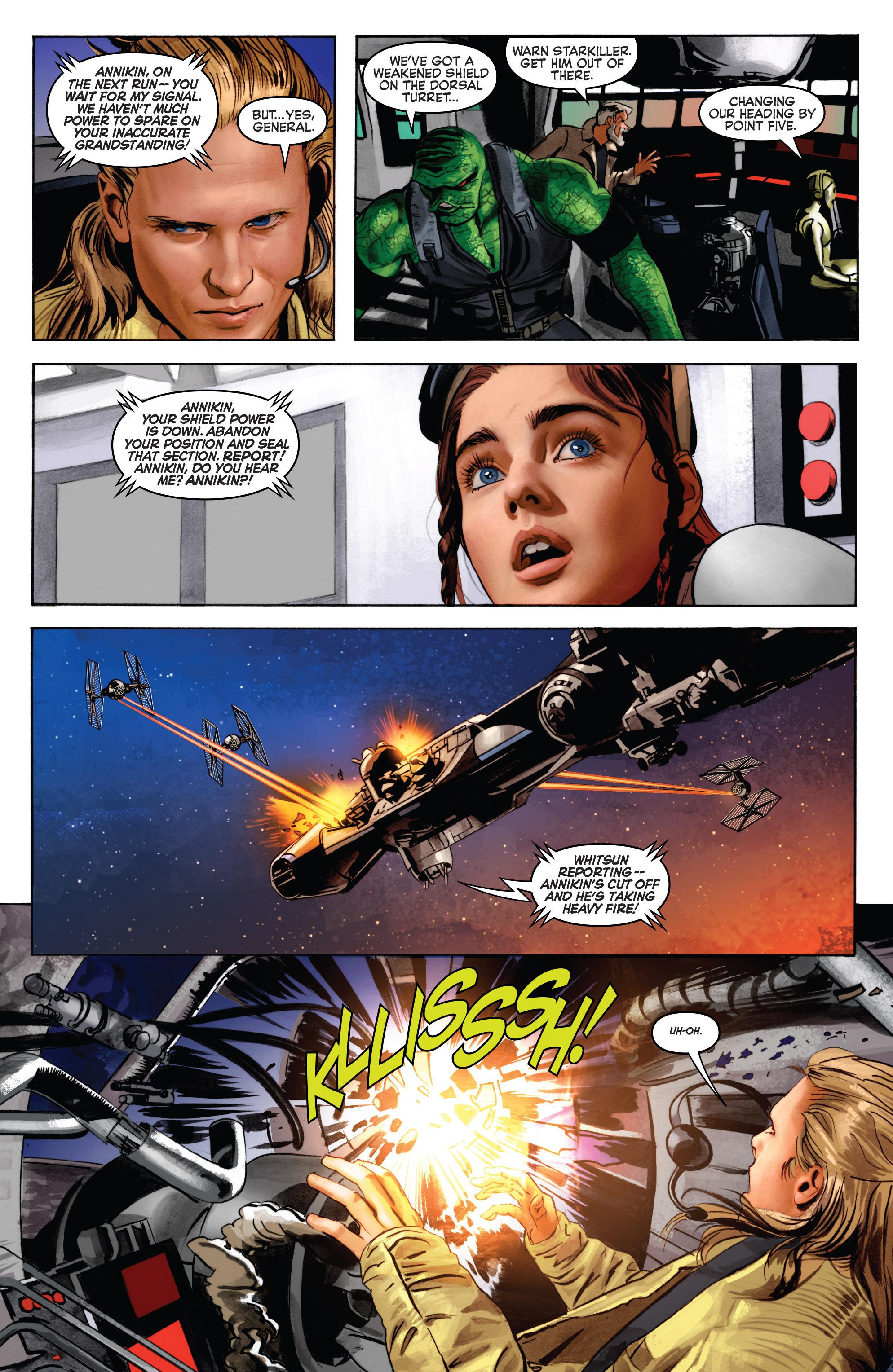 THE STAR WARS comic (2015, Marvel edition) Vol.7 4