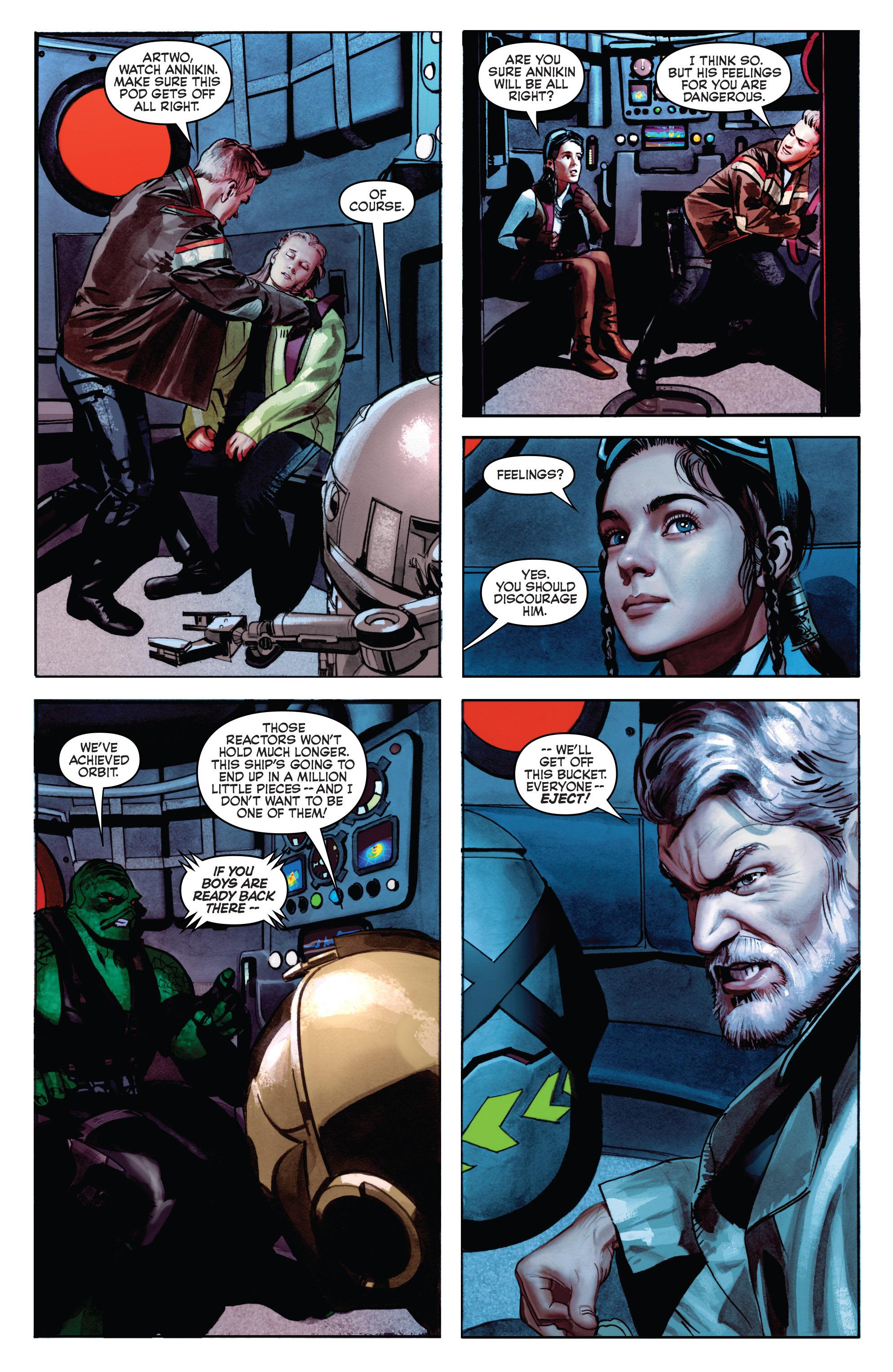 THE STAR WARS comic (2015, Marvel edition) Vol.7 9