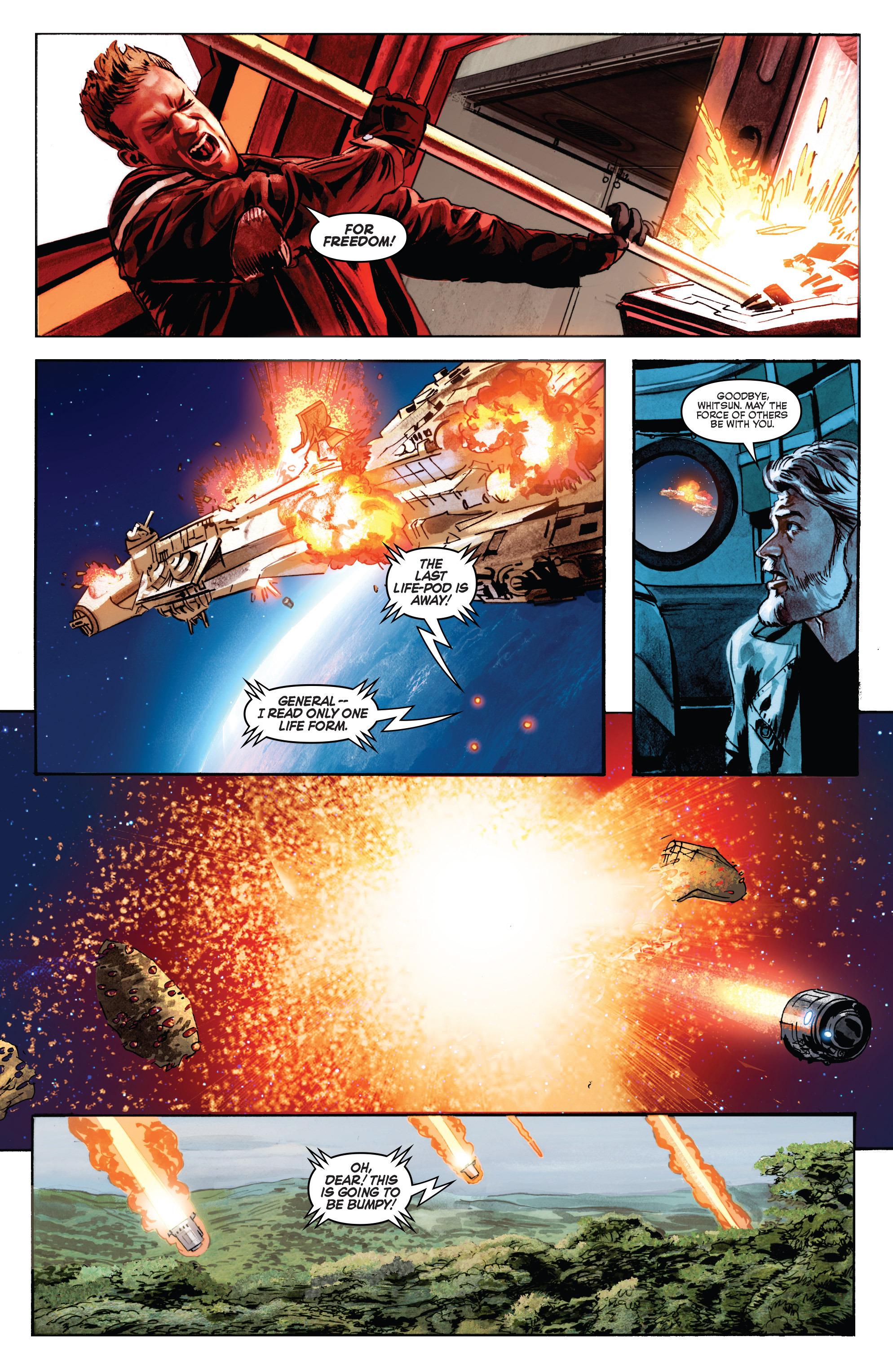 THE STAR WARS comic (2015, Marvel edition) Vol.7 11