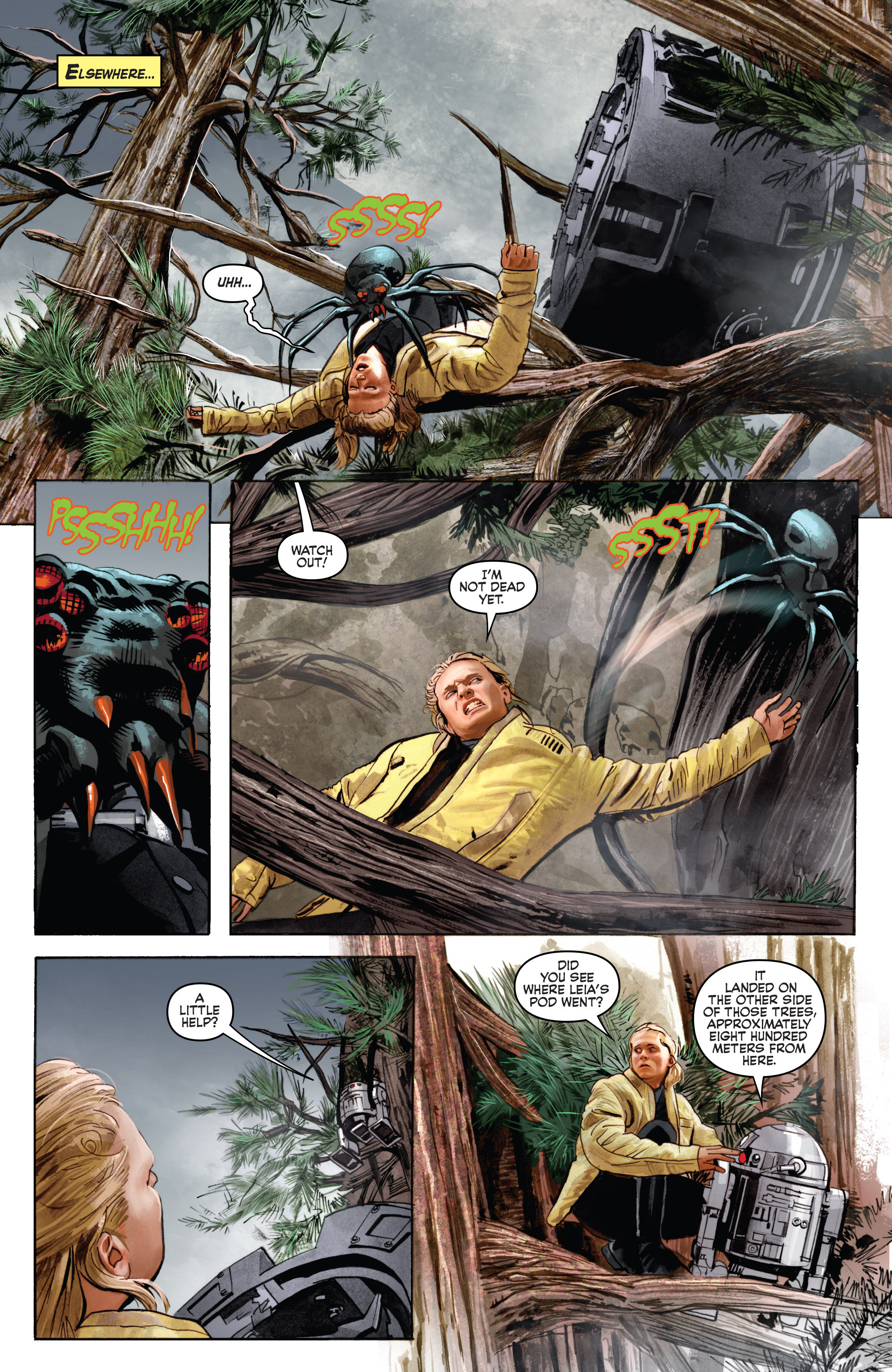 THE STAR WARS comic (2015, Marvel edition) Vol.7 13