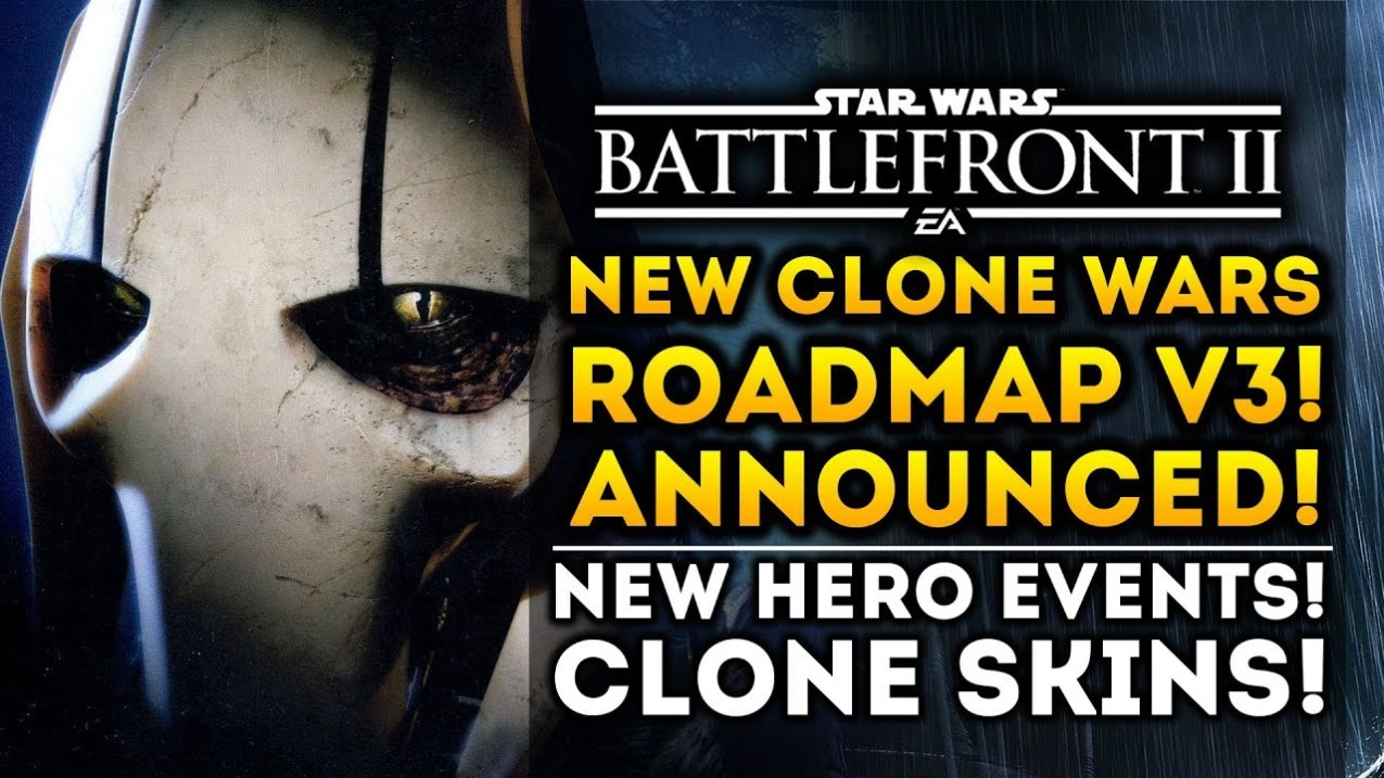 NEW CLONE WARS ROAD MAP ANNOUNCED! All New Updates!