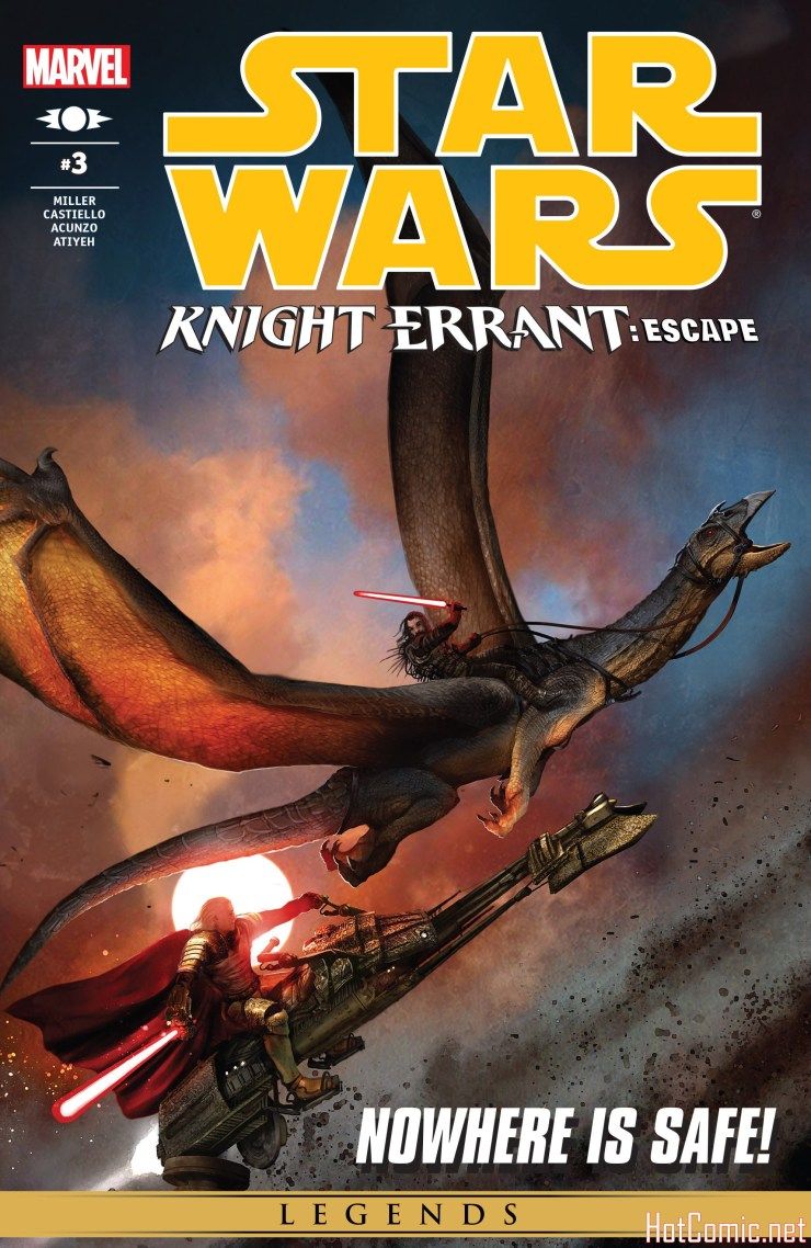 Star Wars: Knight Errant - Escape