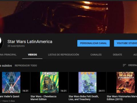Star Wars Saga LatinAmerica YouTube Channel
