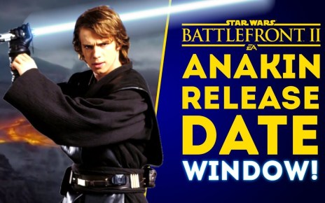 Anakin Skywalker RELEASE DATE WINDOW! New Large Game Mode Details!