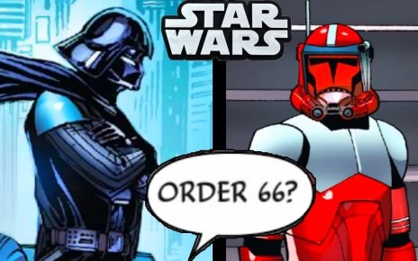 COMMANDER FOX STOOD UP TO DARTH VADER!!(CANON)