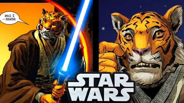 WE HAVE A NEW TIGER JEDI! Why He Loved Dooku!!(CANON)- SW Comics