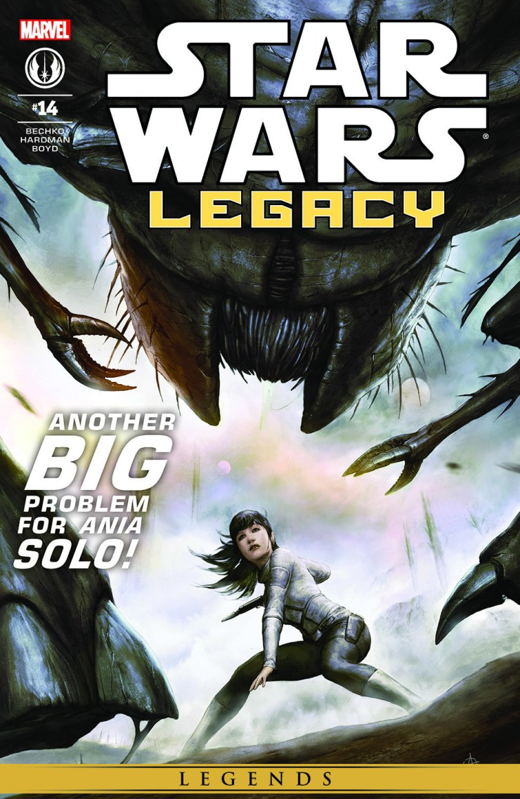 Comic Star Wars: Legacy