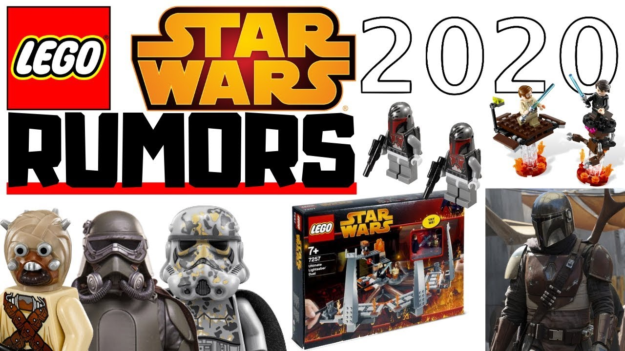 Lego Star Wars Big 2020 Rumors