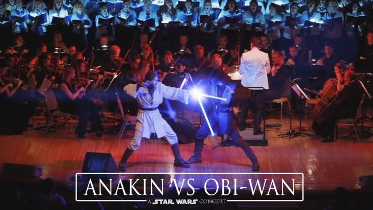 Star Wars Concert Anakin Vs Obi Wan