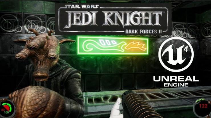 Star Wars Jedi Knight Dark Forces Ii Unreal Engine Remake Wip