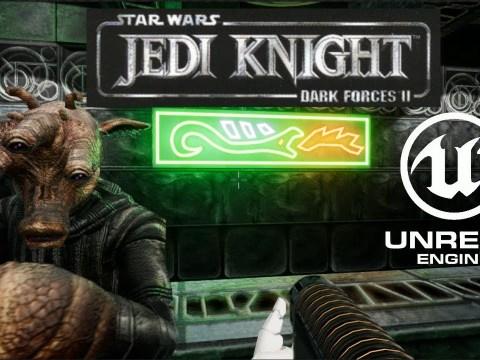 Star Wars Jedi Knight - Dark Forces II - Unreal Engine Remake WIP
