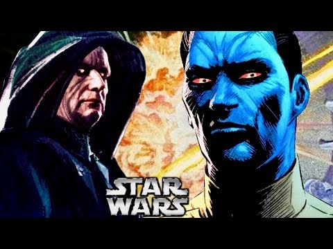 How Thrawn Impressed Palpatine When Told the Death Star was Destroyed!