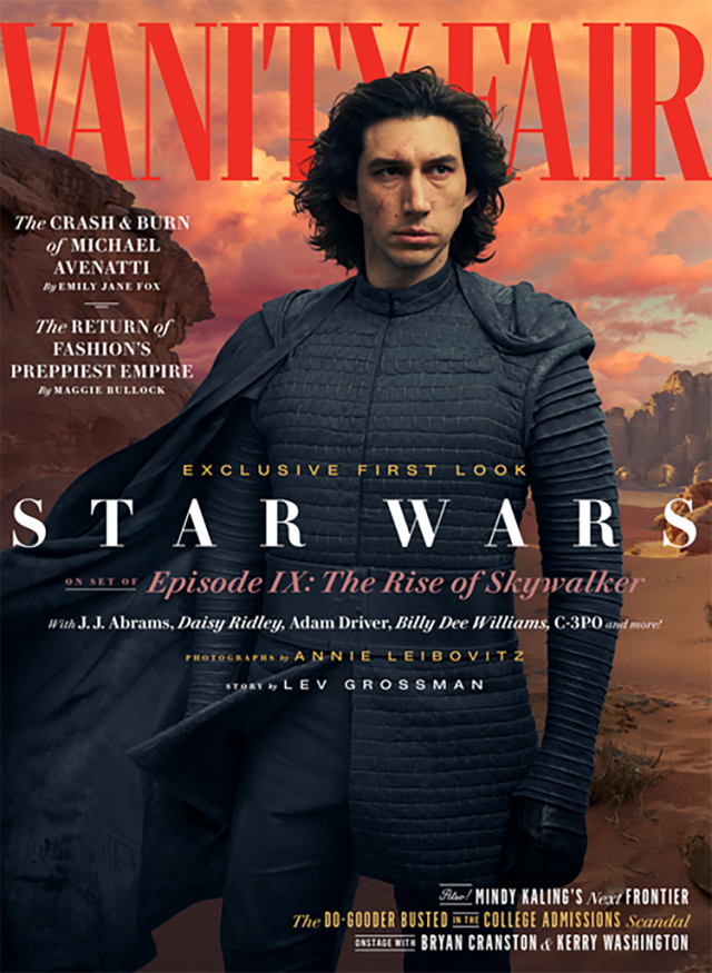 Star Wars Episode IX - The Rise of Skywalker Vanity Fair  new pictures ! 1