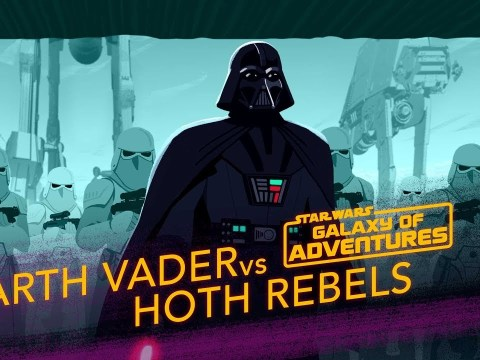 Darth Vader vs. Hoth Rebels - Crushing the Rebellion | Galaxy of Adventures