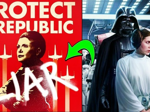 How the Galaxy Learned Darth Vader is Leia's Father (CANON) - Star Wars