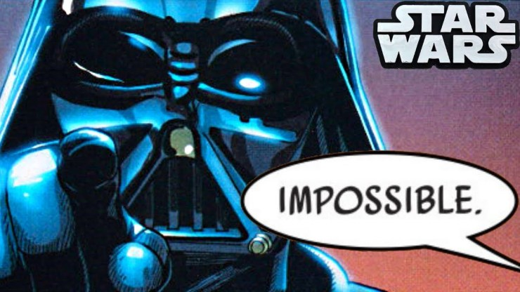 The Moment Darth Vader Achieved The IMPOSSIBLE!!(CANON) 1