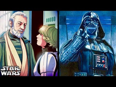 Why Vader First Thought Luke was OBI-WAN'S SON! (Legends)