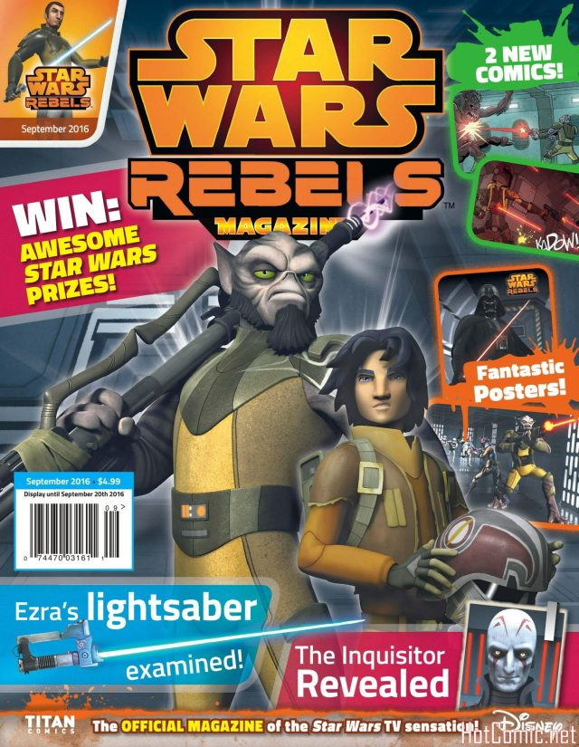 Star Wars Rebels Magazine Issue #6 1