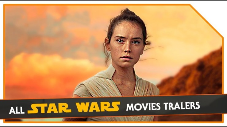 All Star Wars Movies Trailers | A New Hope (1977) - The Rise Of Skywalker (2019)