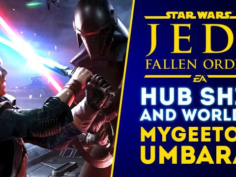 Jedi Fallen Order: HUB Ship and Worlds! Mygeeto & Umbara Planets Spotted!