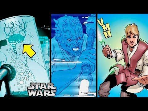 How Darth Maul was Kept ALIVE then Destroyed by Luke Skywalker 1