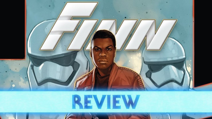 How Finn Spent His Time on Starkiller Base - Age of Resistance Finn Comic Review 1